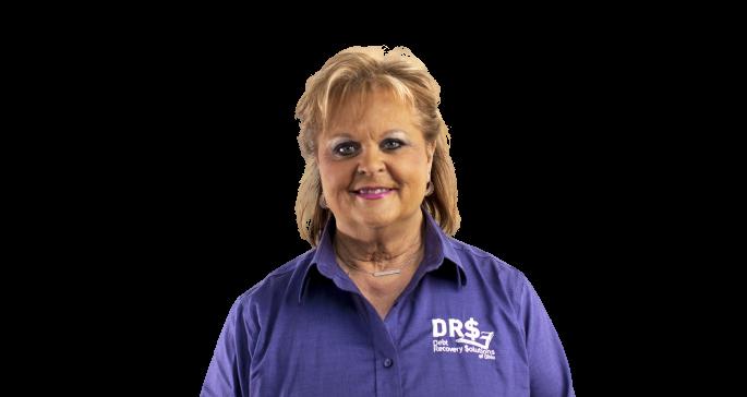 Headshot of Kathy Shambre, President of DRS of Ohio